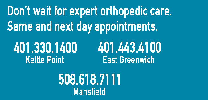 Orthopedic Center in Providence, East Greenwich, Middletown