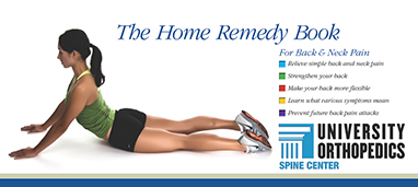 the home remedy book University Orthopedics