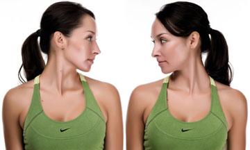 Image result for side to side neck tilt exercise pic